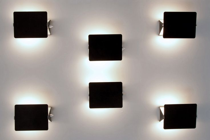 CHARLOTTE PERRIAND  WALL SCONCES CP1, 1950S Steph Simon metal 17 x 13 x 7 cm (per light)