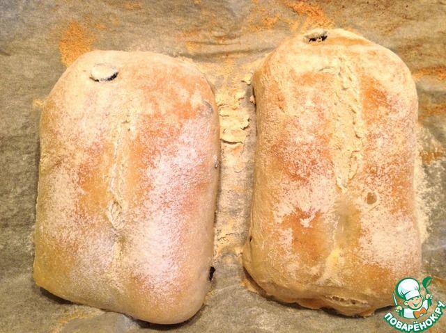 Чиабатта - кулинарный рецепт