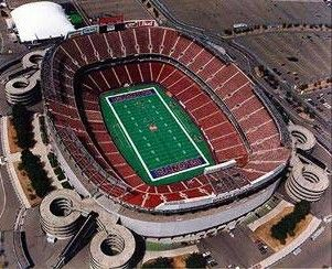Giants Stadium in East Rutherford, NJ. Home of the NY Jets & NY Giants. Saw the Jets play.