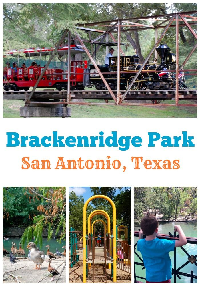 Brackenridge Park in San Antonio, Texas