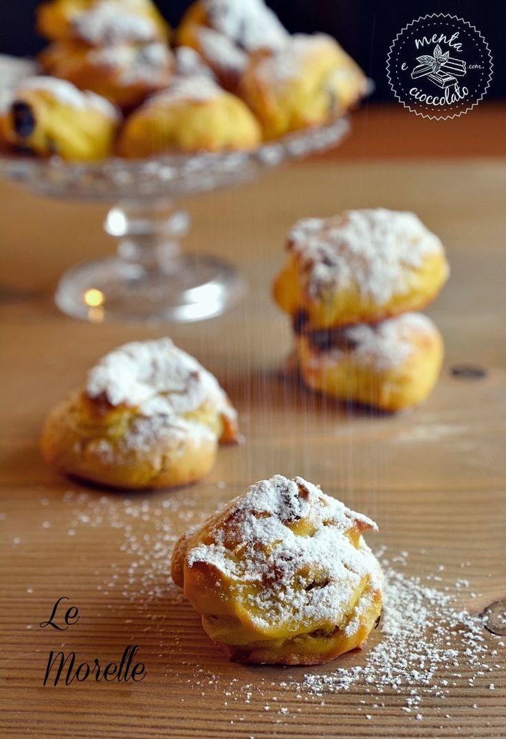 Menta e Cioccolato: Le MORELLE ossia frittelle al forno, per non rinunciare al sapore!
