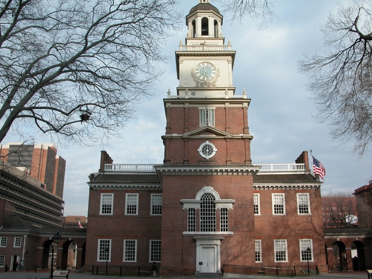Independence Hall, Philadelphia, PA.  A whole lot of history in this Hall.