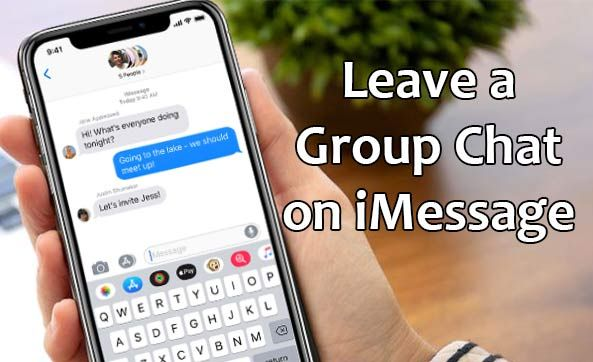 How to Leave a Group Chat on iMessage | Cydia Jailbreak in