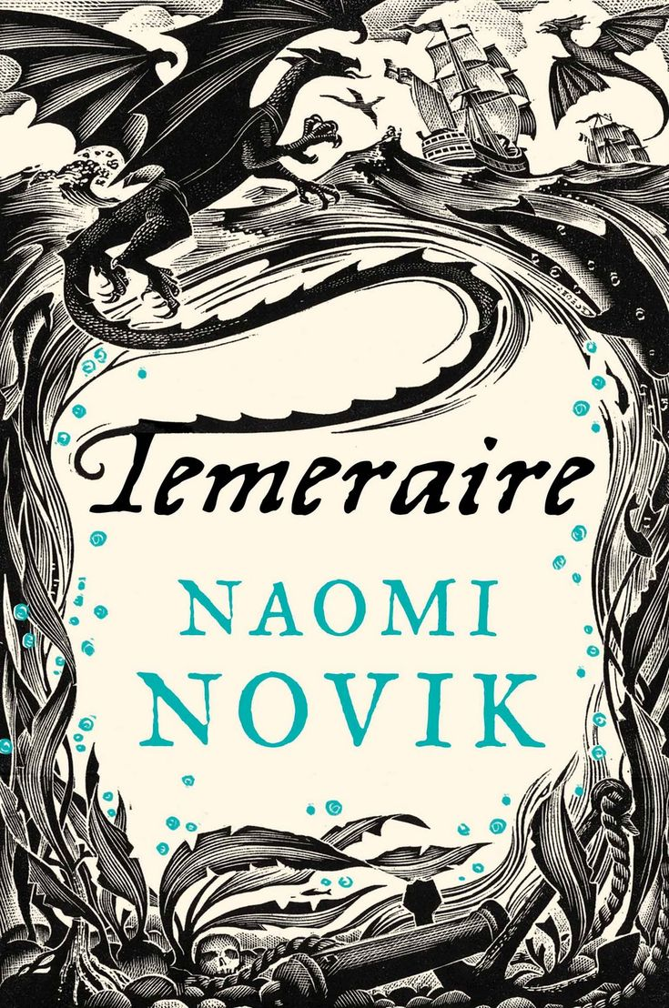 """""""Temeraire"""", by Naomi Novik - Capt. Will Laurence is serving in the British Navy when his ship captures a French frigate harboring most a unusual cargo – a dragon egg. When the egg hatches, Laurence unexpectedly becomes the master of the young dragon Temeraire, and finds himself on a journey that will alter the course of history."""