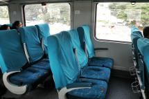Air Conditioned Chair Car (CC) on Shatabdi Express. - Prateek Karandikar/Wikimedia Commons