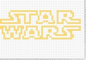 Star Wars Logo Chart