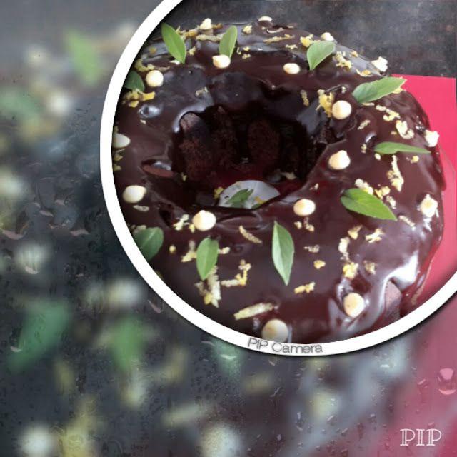 birgülün lezzetleri: Vişne suyu ile Kakaolu Kek