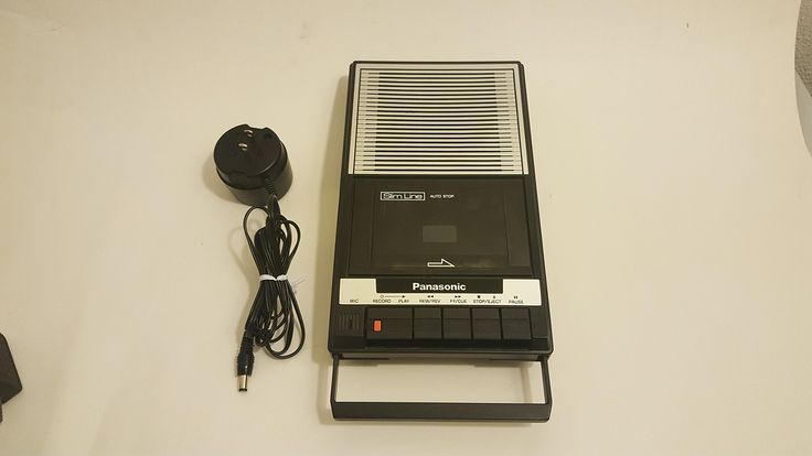 Panasonic RQ-2103 Cassette Player Slim line Auto Stop