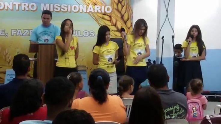 GRUPO DE LOUVOR FEMINIMO  da igreja assembleia de Deus resgatando vidas