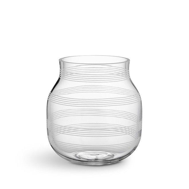 Omaggio Vase Liten Clear   Oppdag den ikoniske Kähler-vasen i glass…