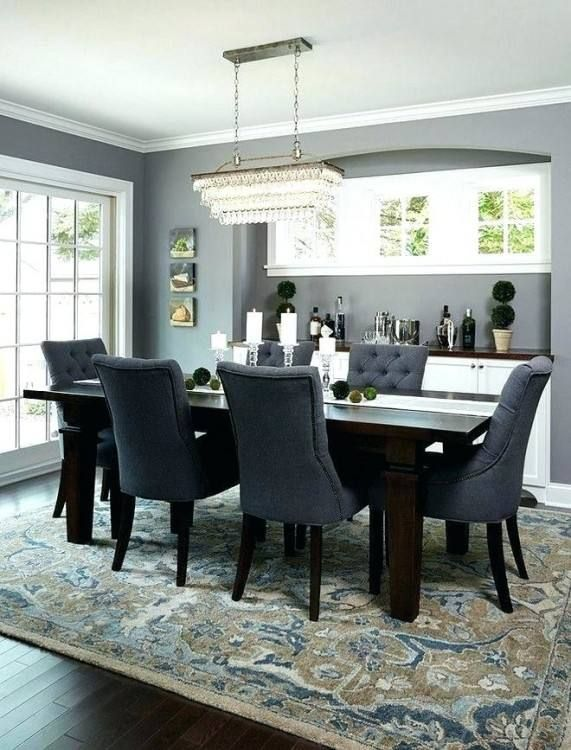 Rug Or No Rug In Dining Room Area Rug Dining Room Farmhouse