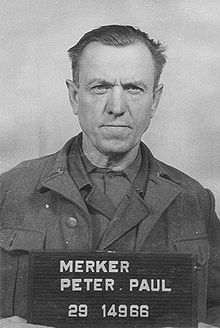 Peter Merker – October 1943 to February 1945 he was the head of the Buchenwalder branch Gustloff-Werke
