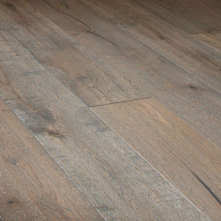 Mullican Flooring 7.43-in Prefinished Charcoal Oak Wirebrushed Oak Hardwood Flooring (23.19 Sq. Feet)