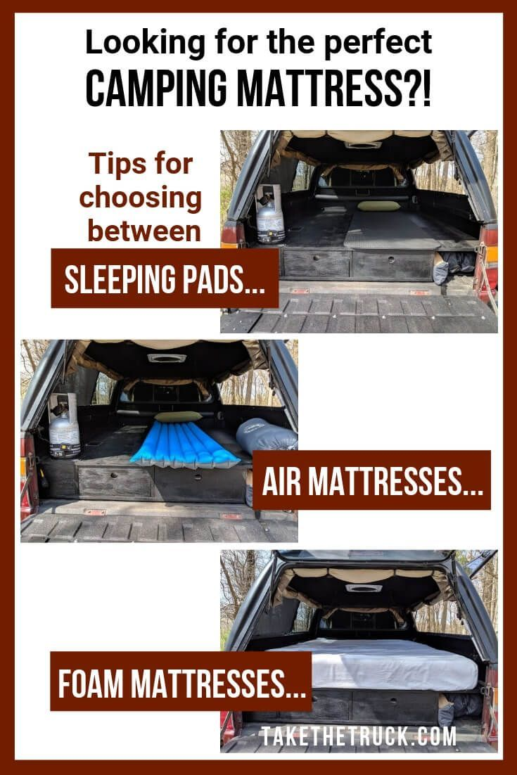 How to Decide Which Truck Bed Mattress is Right for You
