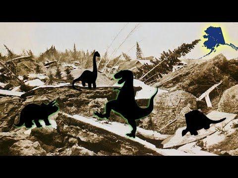 Dinosaurs Live In Alaska - Family Friendly YouTube Channel for Kids! - Dinosaurs Live in Alaska! 2017 - Dino toys playing: T-Rex, Triceratops, Brachiosaurus, Brontosaurus. Tyrannosaurus