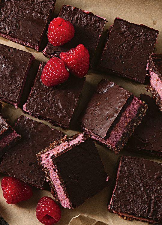 How to make Raw Raspberry Slice