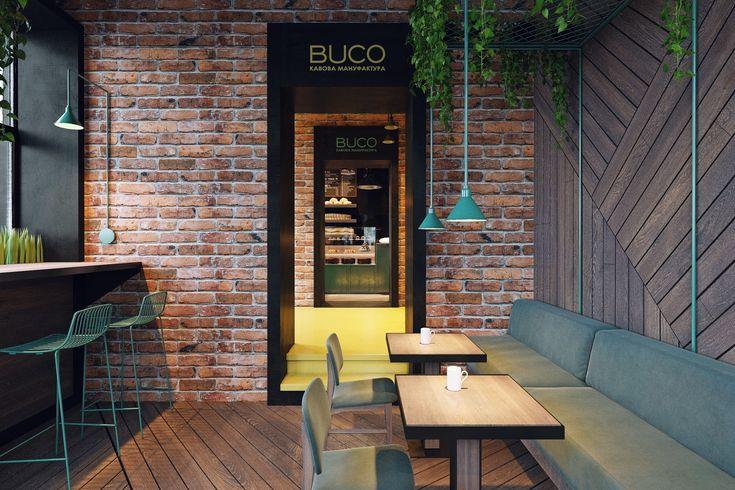 В двух первых залах дизайнеры Zooi разместили барную стойку и несколько столиков. Пространства здесь небольшие, зато с окон открывается живописный вид на Театральную площадь в Черновцах.