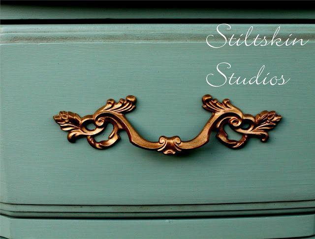 Stiltskin Studios: Cartouche Green  Amy Howard