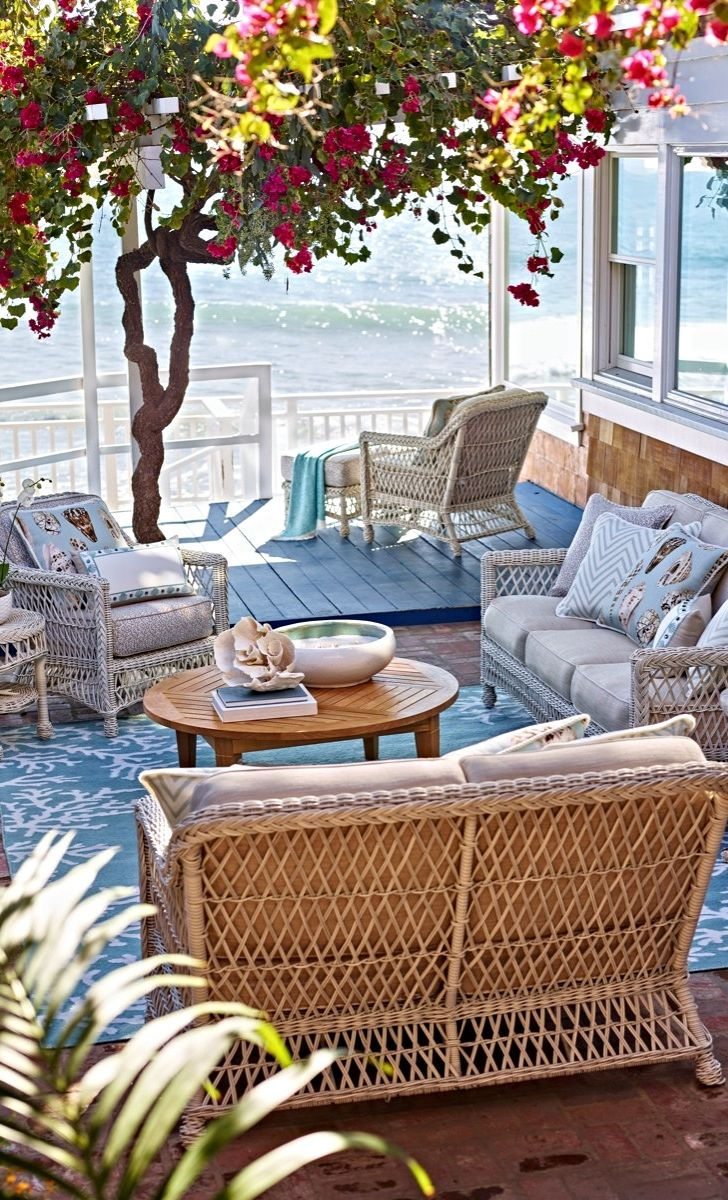 Wicker Patio Furniture Red Cushions: 1000+ Ideas About Resin Wicker Patio Furniture On