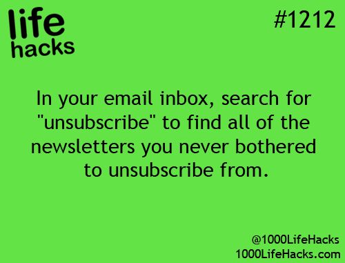 Super fast unsubscribe