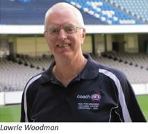 """""""Lawrie Woodman: AFL Coaching Development Manager"""" - The AFL facilitates a vast array of courses including the High Performance Coaching Course at the elite end of their accreditation program. This article features insights from AFL Coaching Development Manager, Lawrie Woodman. http://bit.ly/1mE91LR"""