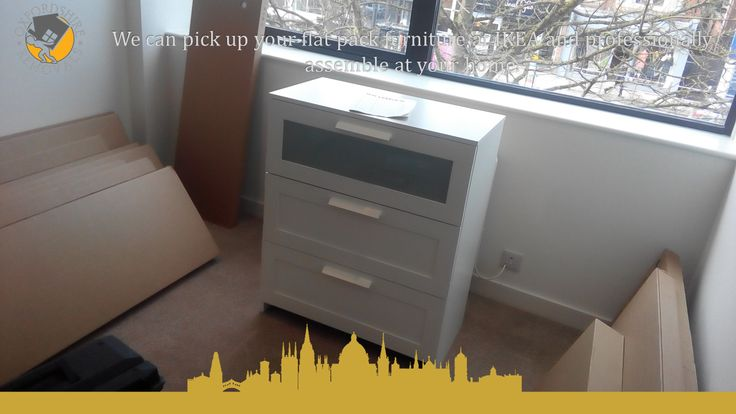 We can pick up your flat pack furniture at IKEA and professionally assemble at your home.