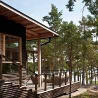 SUMMER VILLA II, Merimasku   Kesäasunnot ja saunat   Projektit   Arkkitehtitoimisto Haroma & Partners OY
