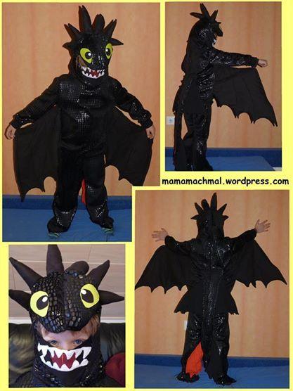 Ohnezahn Kostüm Drachenzähmen leicht gemacht Nachtschatten DIY