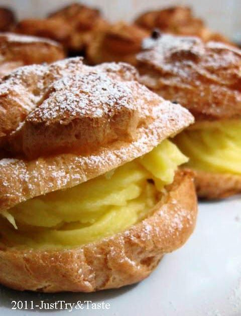 Just Try & Taste: Kue Sus Isi Vla Vanilla