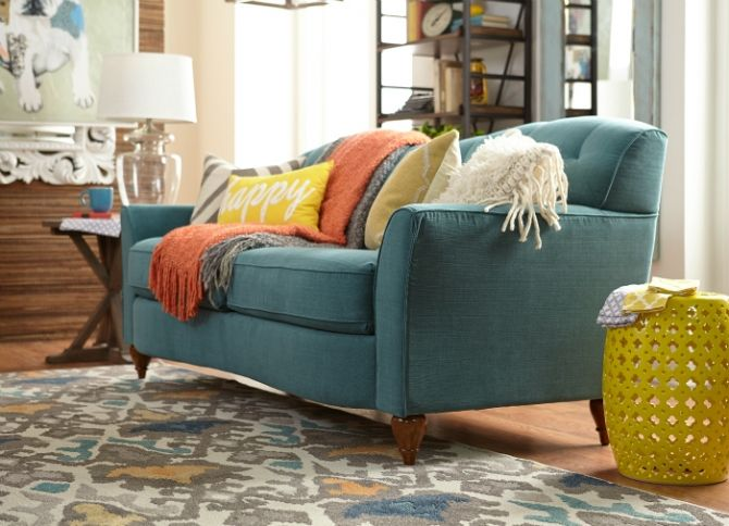 Gorgeous Melina La-Z-Boy premier sofa! Click link to ENTER TO WIN $10,000 of La-Z-Boy products!!!