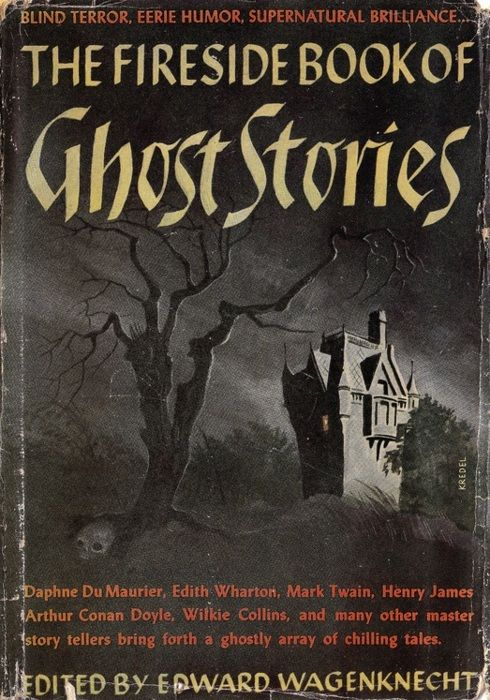 Vintage Halloween Book ~ The Fireside Book of Ghost Stories ©1947