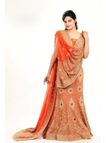 Deal Of The Day : Vivacious Coral Lehenga Choli Flat 300/- OFF and Special discounts still applicable. Buy now. We ship worldwide. http://20offers.com/deal_of_the_day