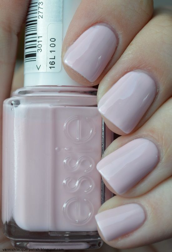 essie - romper room One of my favorite nail colors... Looks good with a French manicure too.