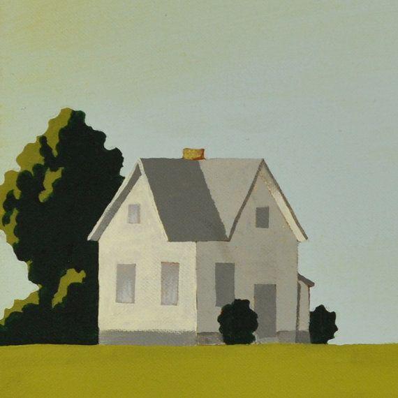 Modern Farm Painting