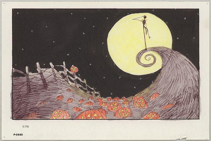 Tim Burton 『the nightmare before christmas』