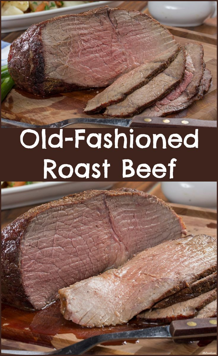 "For a lot of us, nothing says ""home"" or ""old fashioned goodness"" like roast beef."
