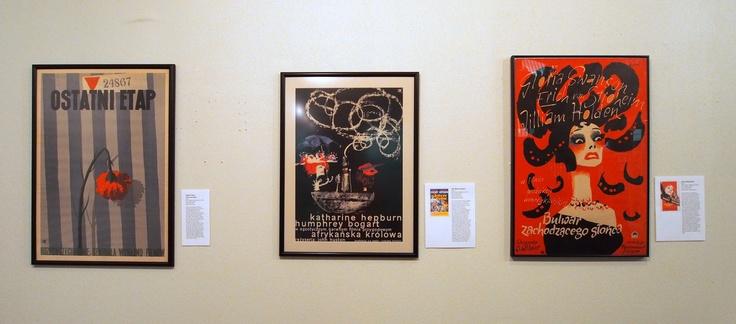Ostatni Etap, African Queen & Sunset Boulevard (Polish posters)