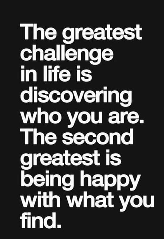 The Greatest Chalange In Life Inspirational Quotes Inspirational