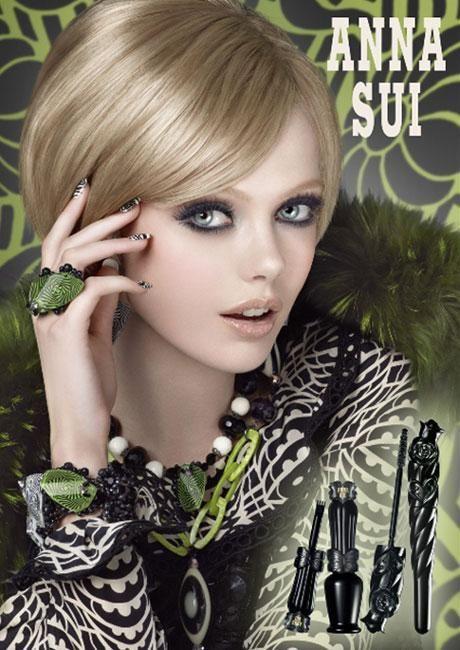 Frida Gustavsson | Anna Sui Beauty F/W 2011