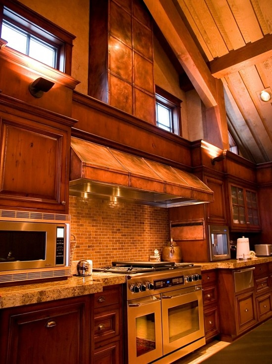 73 best images about faux ideas on pinterest faux for Cabin kitchen backsplash ideas