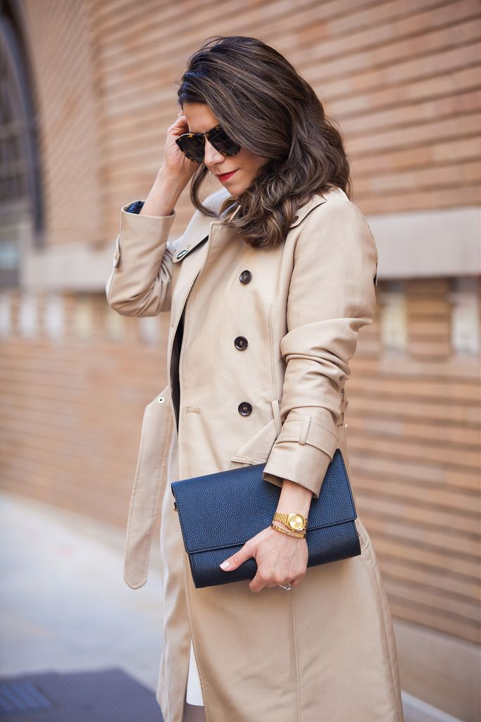 what to wear in the spring trench coat zara coat great ideas for spring outfits to wear in the spring asos white dress dvf bethany heels trench coats black clutch karen walker white heels corporate catwalk what to wear this season