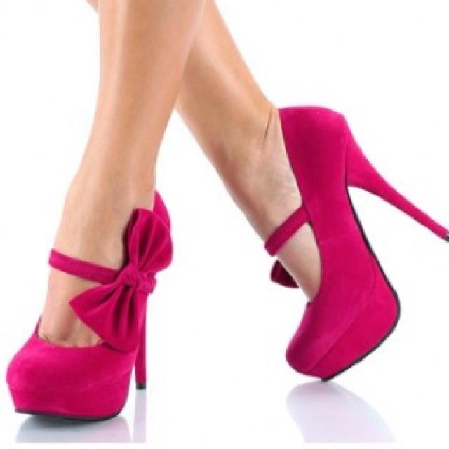 Cerise Pink Heels
