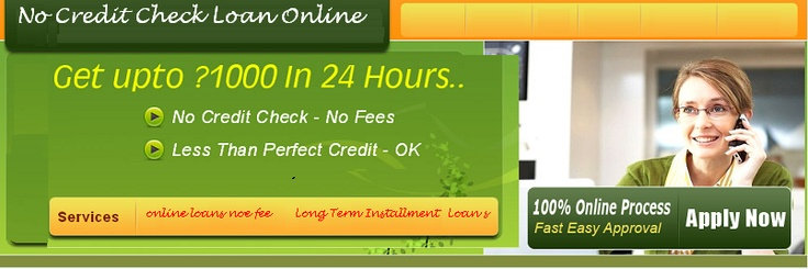 Many lenders offer,  no credit check loans ,but they are at very high interest rate and their are so many formalities during the loan approval process. But, no credit check loan online help to arrange best financial aid with low interest rate and less formalities. Just apply with us and resolve your urgent financial problems.