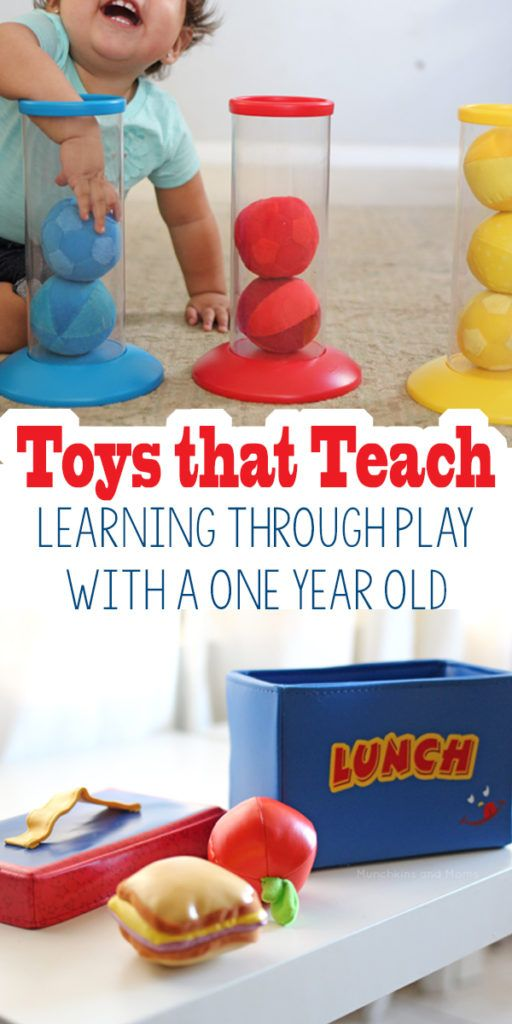 Toys That Start With F : Toys that teach learning through play with a one year