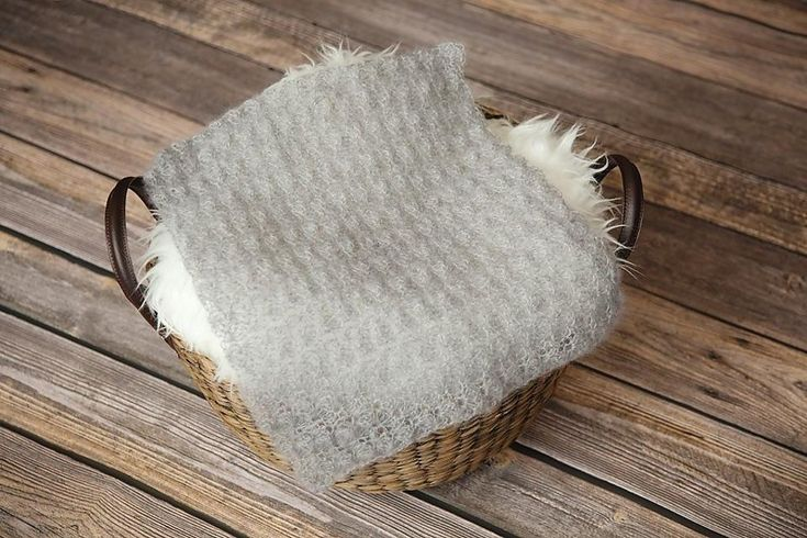 Mohair Newborn Blanket