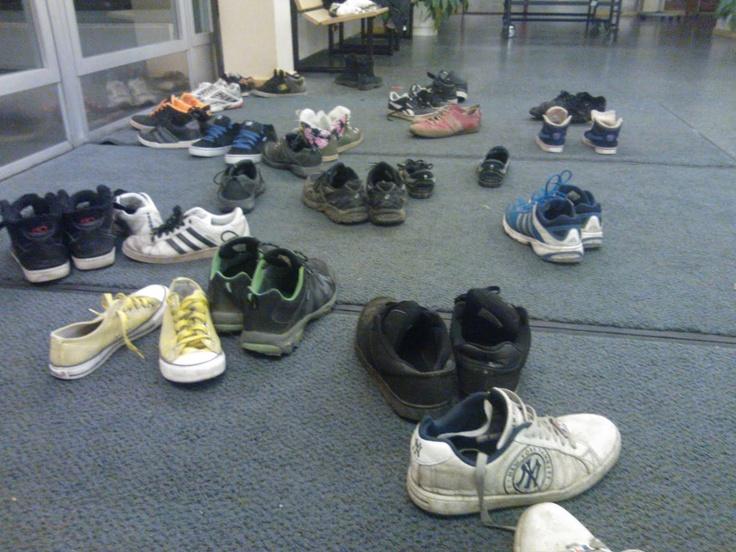 Lanittajien kengät