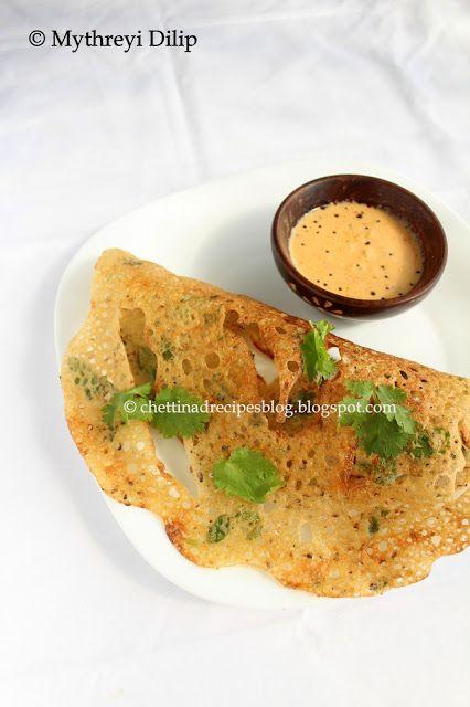 Crispy Rava Dosa( Semolina Pancakes). http://chettinadrecipesblog.blogspot.com.au/2013/07/rava-dosa-crispy-rava-dosai.html