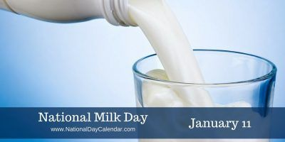 January 11, 2017 – NATIONAL STEP IN A PUDDLE AND SPLASH YOUR FRIENDS DAY – NATIONAL MILK DAY NATIONAL HUMAN TRAFFICKING AWARENESS DAY