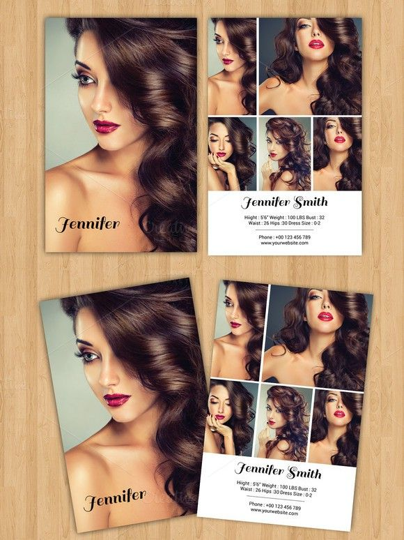 1000 ideas about model comp card on pinterest modeling for Free model comp card template psd