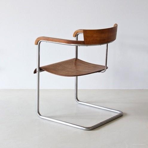 Chair by Jindrich Halabala-ZEITLOS-BERLIN